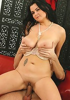 Thick mature babe Reny getting fucked hard from behind.