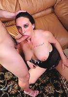 How about a MILF with a little meat on her bones! Brianna's got some big round tits and ass to go along with her slutty ways, that she's perfected over the years, like only older women can!