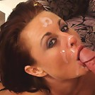 Sexy MILF rides the baloney pony!