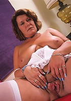 Big breasted 50 year old loves to suck cock!
