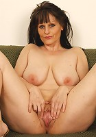 Hot older lady loves black meat!
