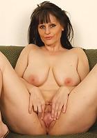 Hot older lady loves black meat!