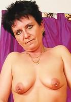 Fifty plus woman fucks like a true slut