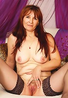 Horny older broad loves to take a cock pounding!