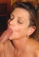 This old slut's husband can't get hard anymore, so she needs to find some other cock to satisfy her.