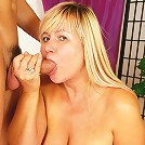 Big tit granny loves to ride cock!