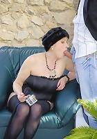 Granny slut still loves big cock!