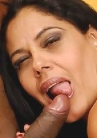 Sexy Latin MILF knows how to ride like a cowgirl!