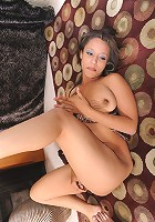 Mature slut can't get enough hard cock in her smoothly shaven pussy!