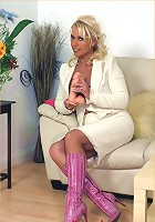 Enjoying my new dildo I've just purchased from a french dildo maker