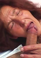 Lusty grandma cock rider