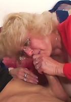 Making sweet love to grandma