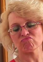 Granny cock pleaser looks great