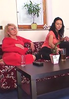 Great passion with a hot granny