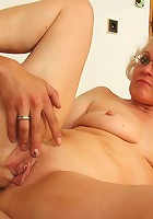His hot mature lover gets her pussy filled the way she wants by the eager young man