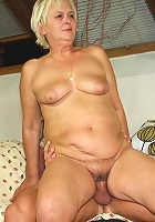 She might be old but she provides him with better sex than his wife can give his cock
