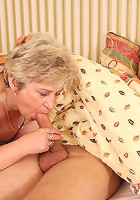 Daughter walks in on her mature mom sucking and fucking with her son in law