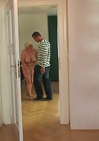 His mother in law is a total slut for his hard cock and watching her screw is awesome