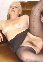 She wraps her soft lips around her son in law's cock and she gives him the best head ever