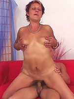 She has a thing for young guys and his youthful dick proves to be exceptionally arousing