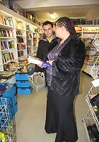 Hot grandma at the book store taken home and fucked by a much younger man