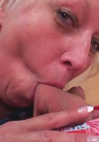 His chubby mature lover is easily seduced and her pussy is fun to fuck so hard