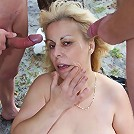 The hot and horny grandma likes cock and she gets a good fucking in the hardcore gallery