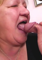 It is time for double the dicks as this mature hottie gobbles them down and takes them in pussy