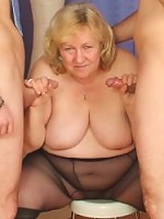Mature babe reinvigorates her sex life by fucking her husband and the sex therapist