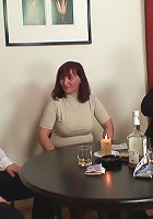She is a cock teasing and pleasing mature redhead and she shows the guys a damn good time