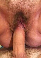 The young men have big dicks and the mature wants them to fuck her sexy pussy hard