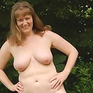 amateur milf tits outdoors