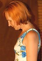 Redhead mom slammed