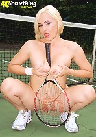 Tennis Court Tease