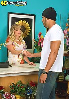 Florist gets fucked by young stud