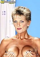 Naughty MILF Sinsation in the nude