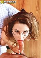 Busty Selena Steele sucks and fucks a stud