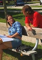 check out this milf hunter at the park pick up a horny mini skirt babe then bang her hot box back at the pad hot fuck pics
