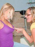 3 beautiful hot fucking lingirie milfs share their pussies in these lingiere lesbo licking party pics