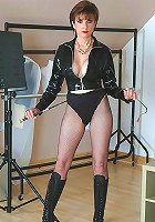 Booted mature mistress