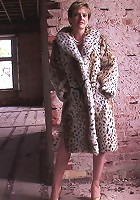 Fur coat mature