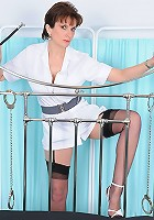 Mature nylons nurse
