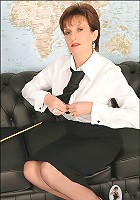 Strict mature domme