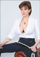 Cleavage mistress