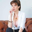 Cleavage mistress