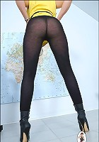 Pantyhose leggy wife