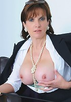 Business suit milf