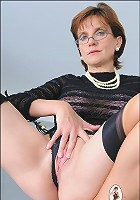 Nylon milf mistress