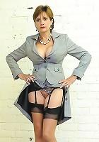 Business suit milf