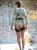 Heels and nylons milf